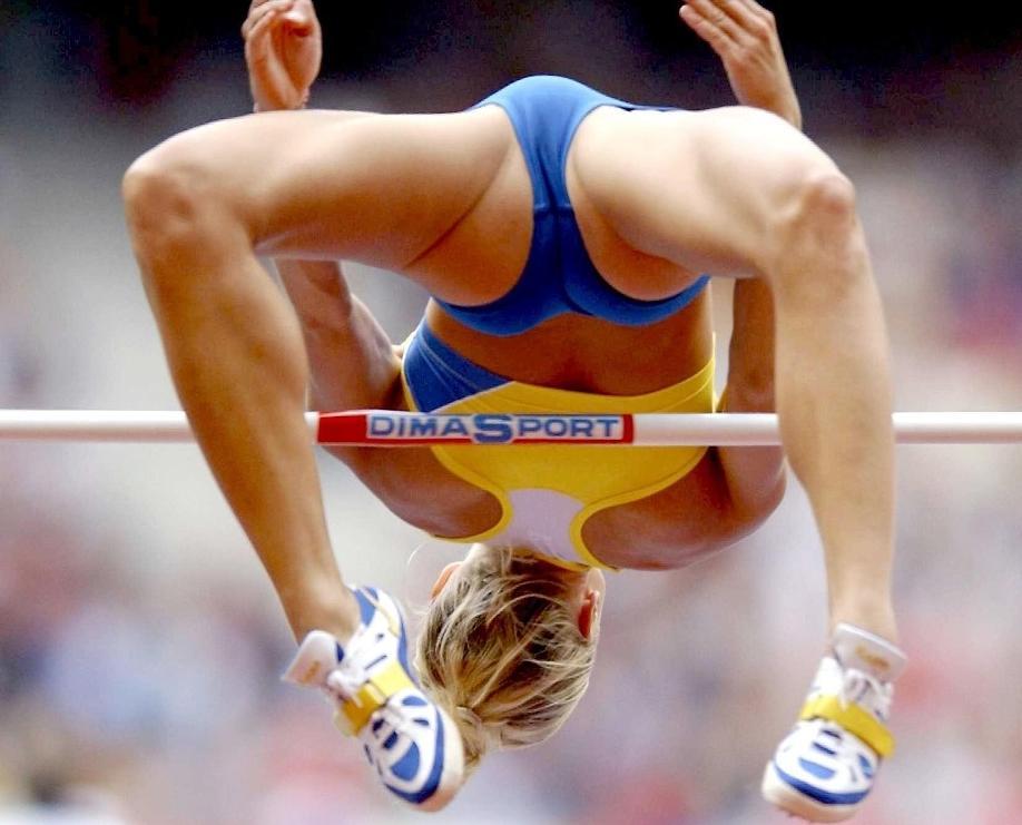 эротическая в легкой атлетике фото