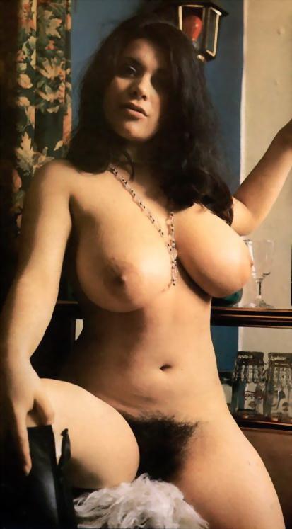 винтажные фото голых красивых и волосатых женщин
