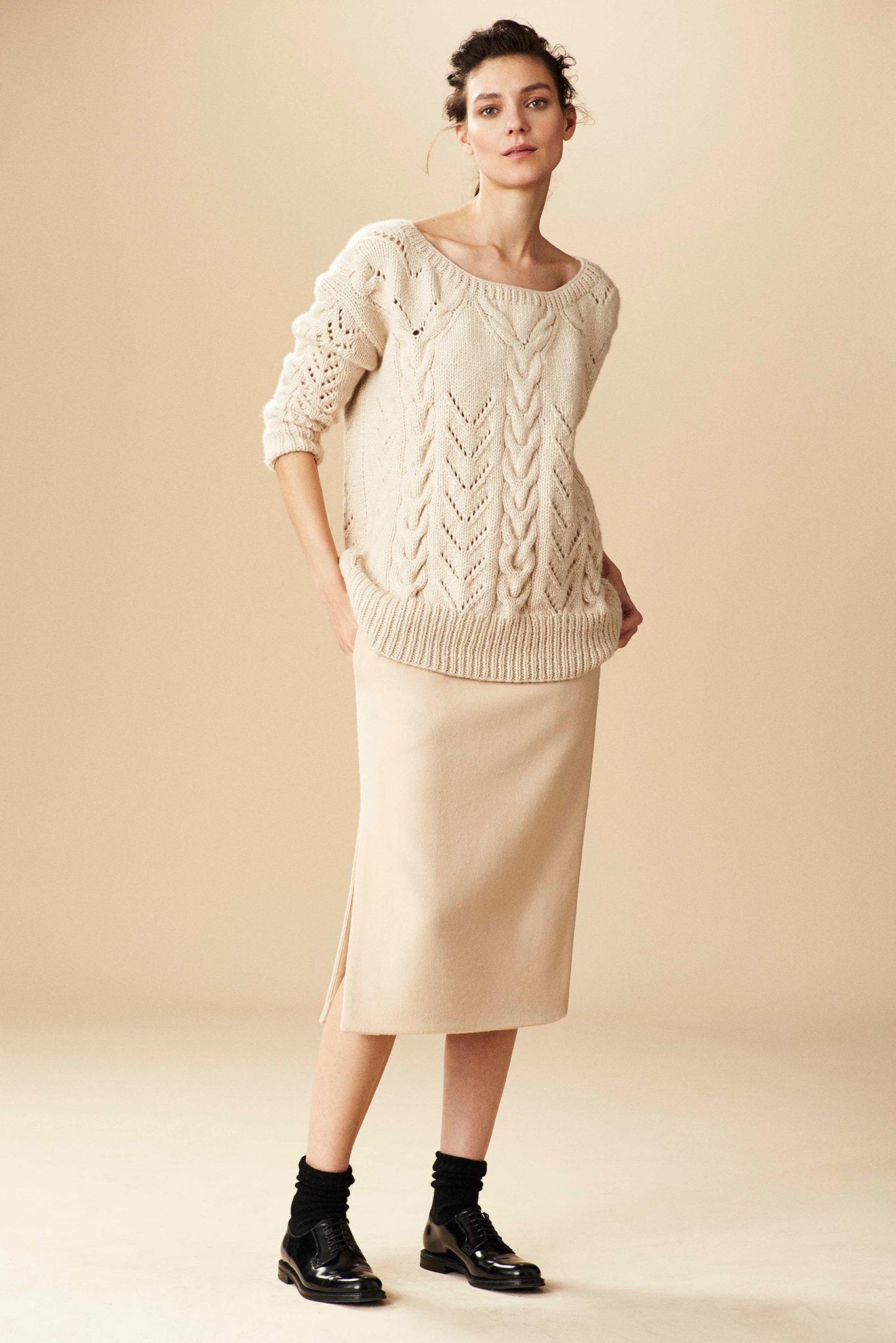 Модные Вязаные Пуловеры 2015