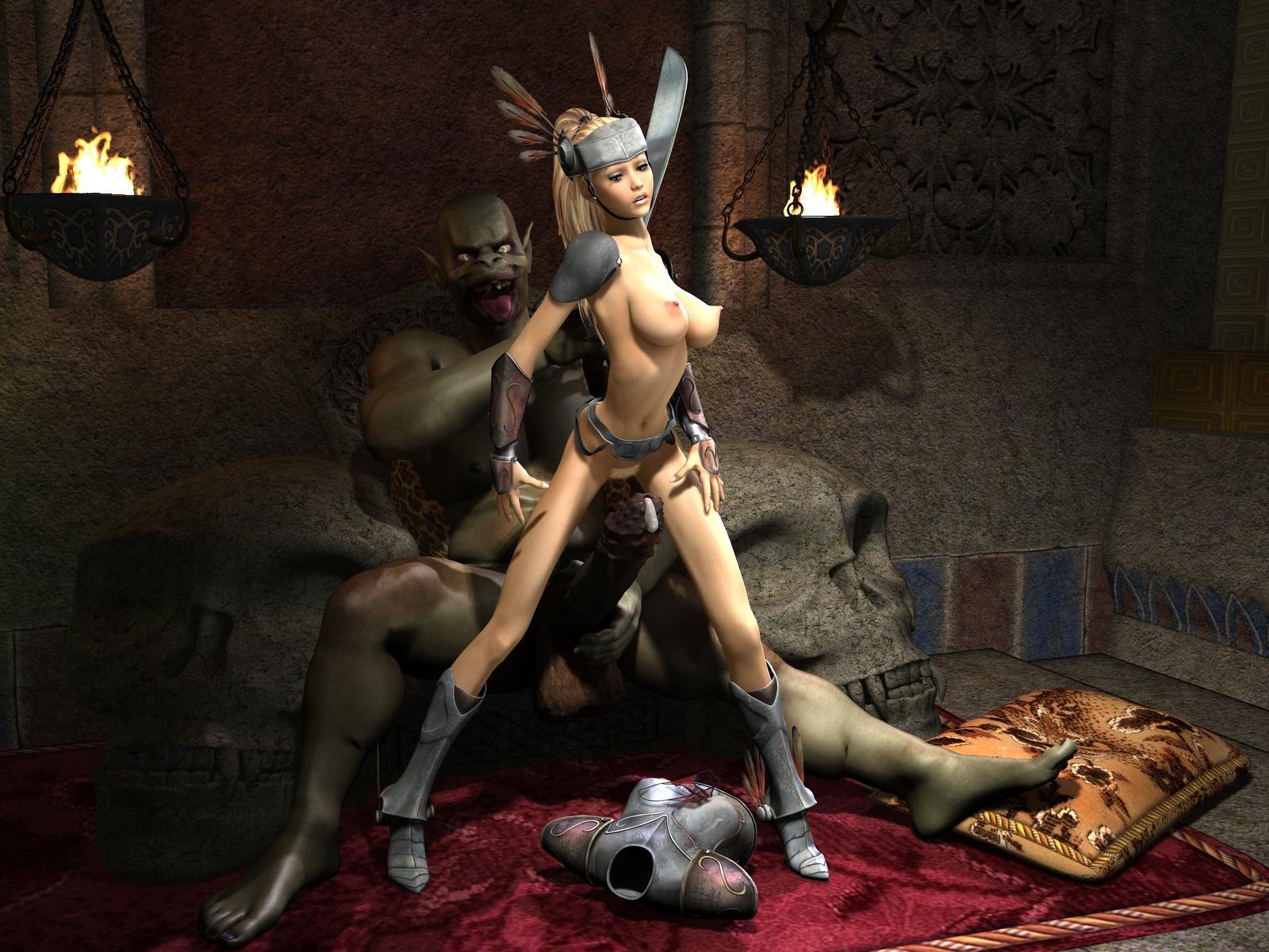 3d orc slave girl porn scene