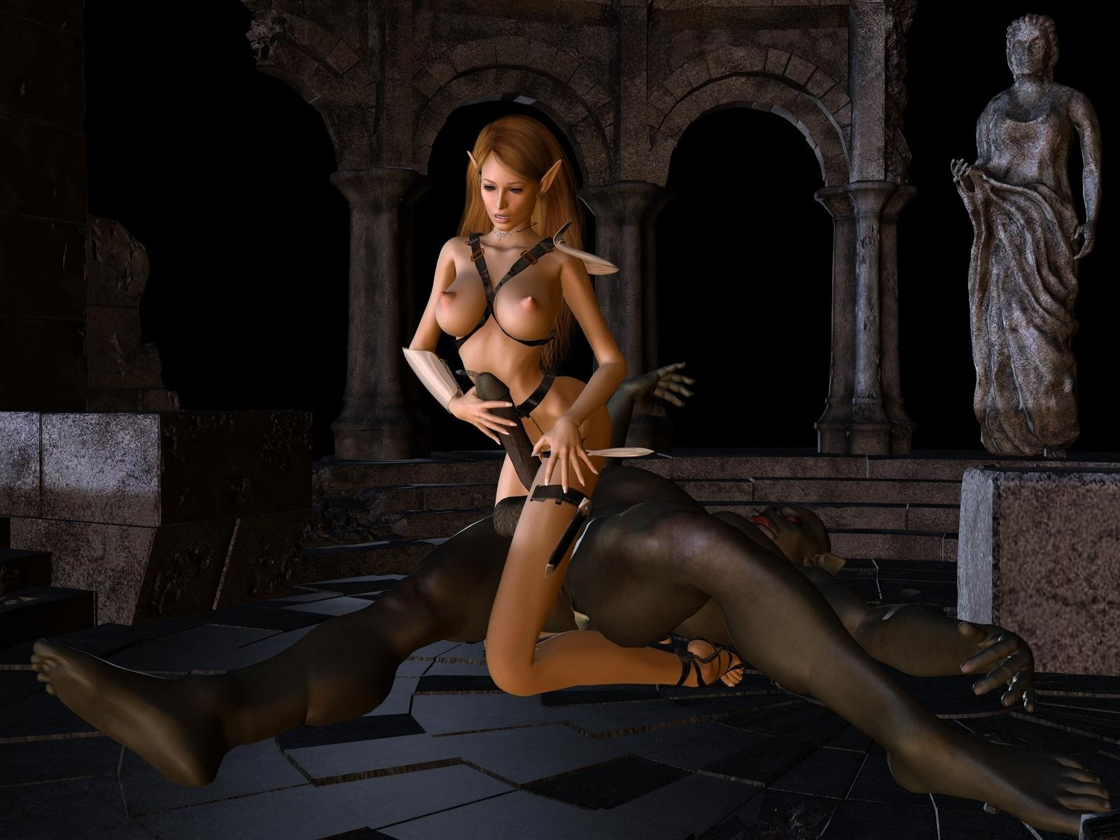 3d sexy elves pix sex video