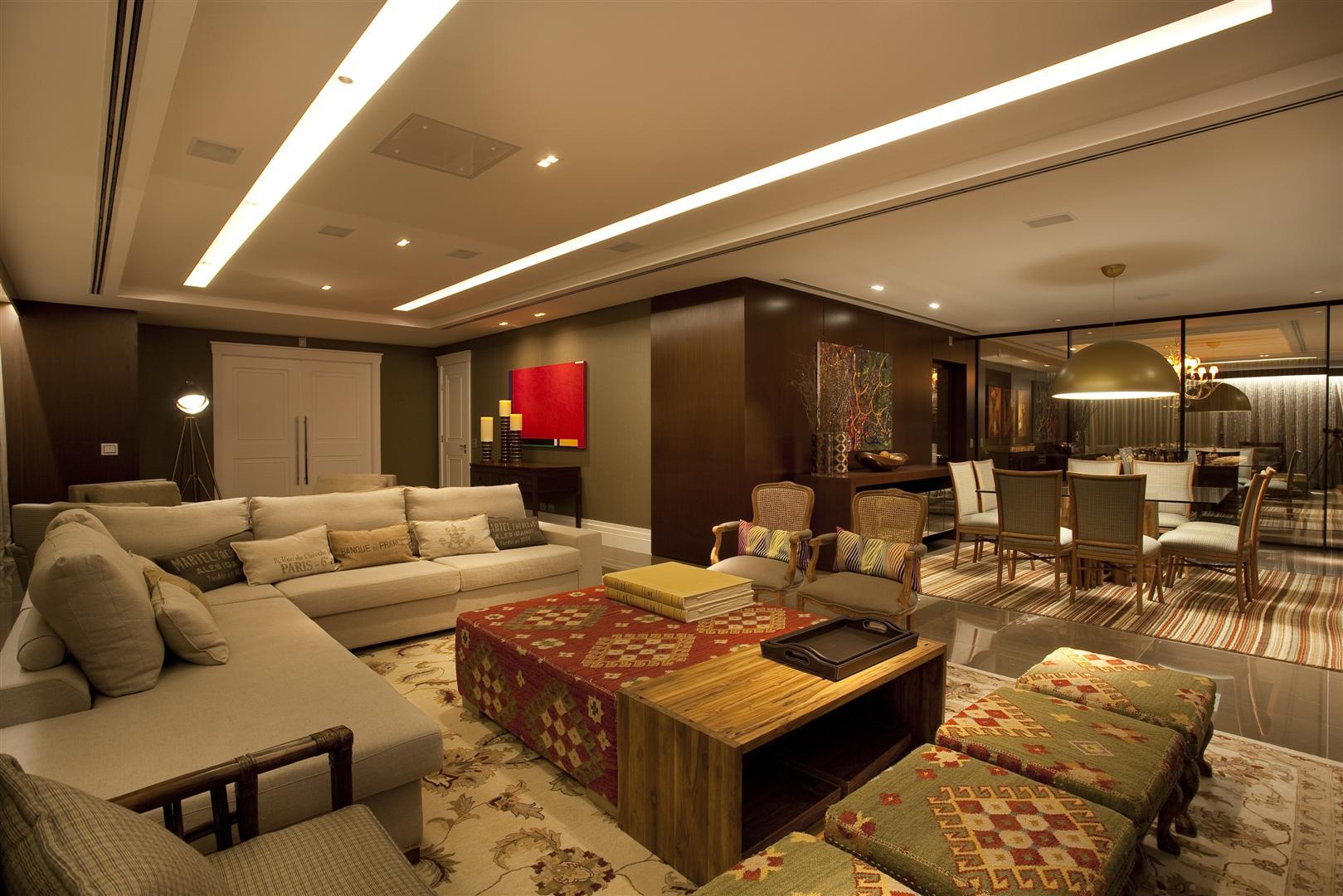 Sala de estar grande