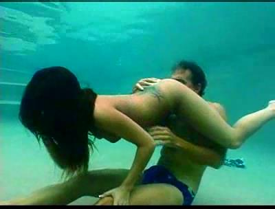 Making lover under water by wf