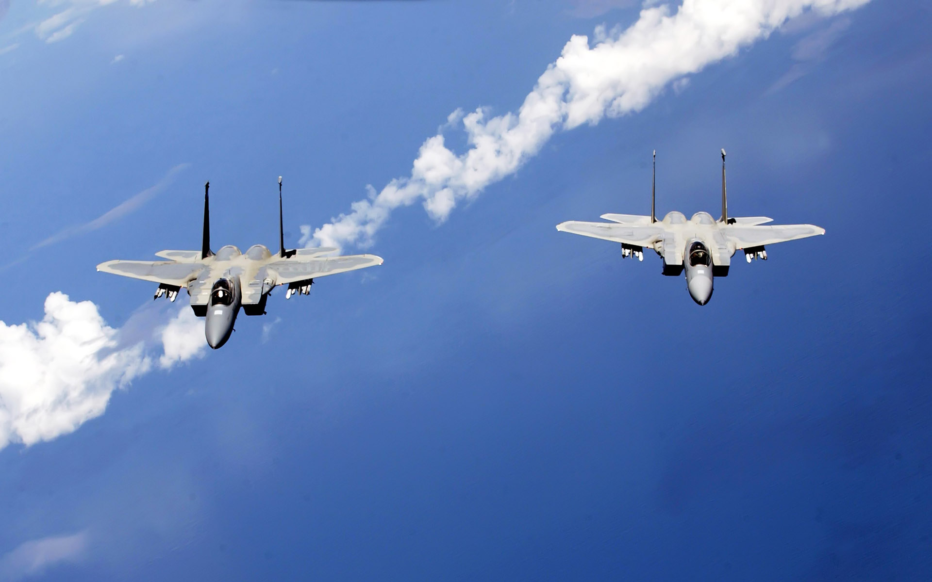 f 15 eagles from the air national guard wide