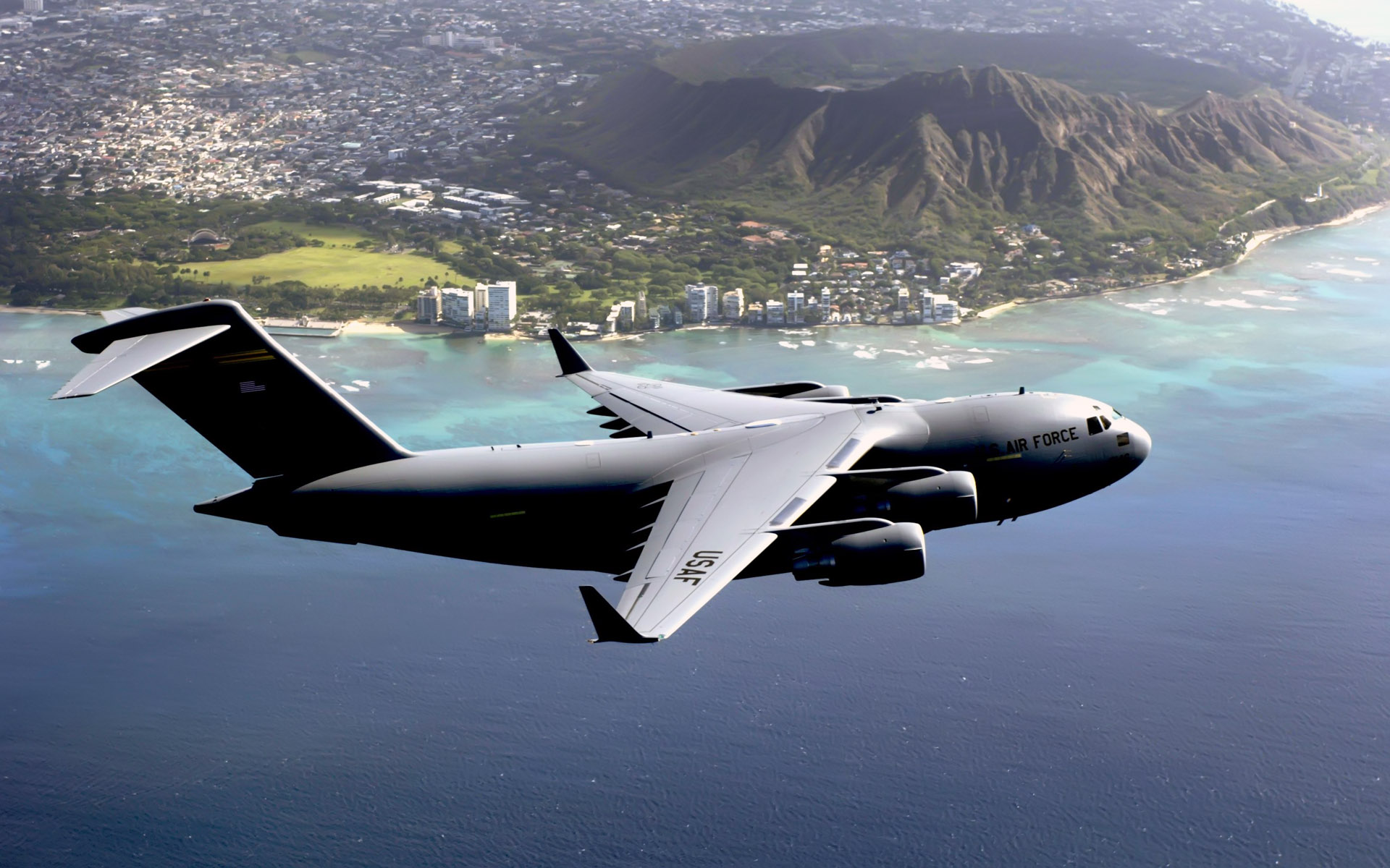 hawaii based c 17 globemaster iii wide