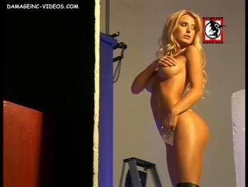 Jesica Cirio naked grabing her tits