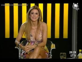 Argentina Celebrity Flavia Palmiero big tits interview video