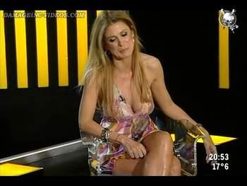 Flavia Palmiero hot legs