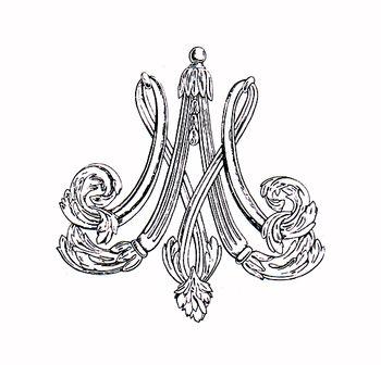 Le monogramme ou chiffre de Marie-Antoinette - Page 2 20061412_CHIFFR10