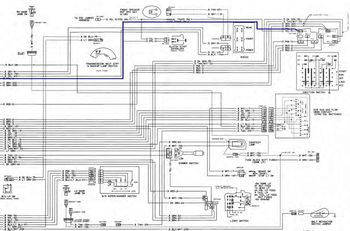 wont start but has power gm square body 1973 1987 gm truck wiring diagrams showing the purple wire i am color blind so the lines might not be purple i took a guess
